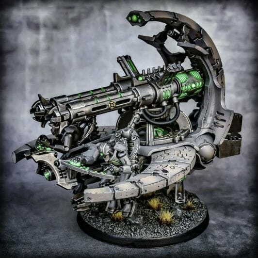 How to paint necrons simple easy fast - tutorial for painting necrons - necron paint schemes - necron color scheme - green dark grimdark color scheme - how do you all paint necrons how do you paint new necrons are necrons easy to paint - flyer