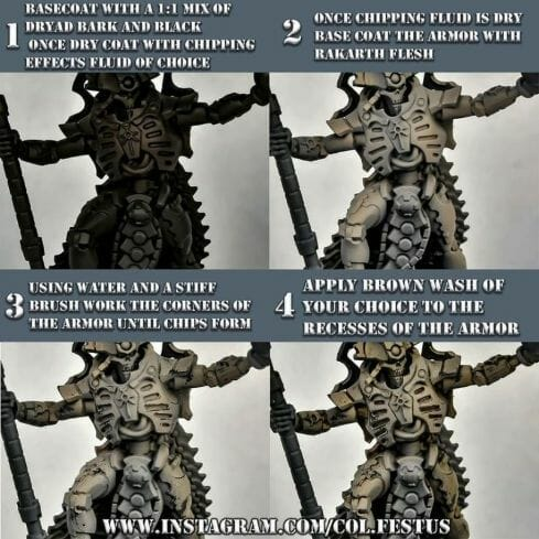 How to paint necrons simple easy fast - tutorial for painting necrons - necron paint schemes - necron color scheme - green dark grimdark color scheme - how do you all paint necrons how do you paint new necrons are necrons easy to paint - painting armor