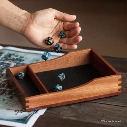 13 Best Dice Trays for Tabletop Games (Review) – best dice trays for wargaming – Warhammer dice tray and storage – best dice tray for Warhammer 40k and miniature games – boardgame dice tray – best dice trays – dice trays for dungeons and dragons, D&D, and roleplaying games (RPG) – Let 'Em Roll Dice Tray