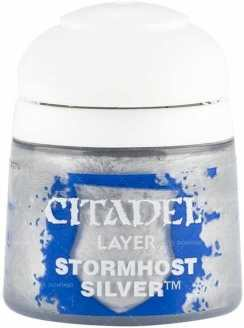 Best 26 Citadel Paints for Your Model Paint Collection – most useful model paints – best acrylic paints for new painters – best citadel paint set – best citadel paint – versatile model paint – games workshop paint sets - Stormhost Silver