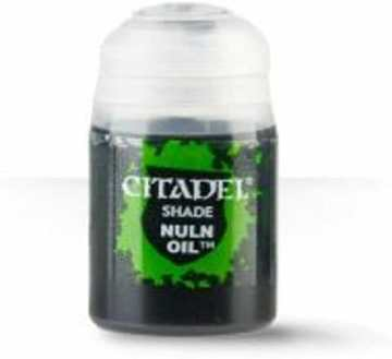 Best 26 Citadel Paints for Your Model Paint Collection – most useful model paints – best acrylic paints for new painters – best citadel paint set – best citadel paint – versatile model paint – games workshop paint sets - Nuln Oil