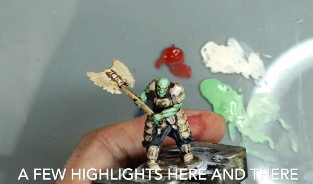 Speed painting tabletop miniatures - How to speed paint RPG miniatures and models - painting bulk dnd miniatures - how to paint models faster for tabletop games - 5 easy steps for painting miniatures fast - only place highlights in select places
