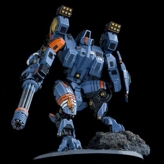 Tau sept color schemes, caste color schemes for Tau, T'au paint color scheme ideas – Grimdark Tau style, Blachitsu Tau painting, how to paint Tau miniatures, Games Workshop Tau paint schemes – How to paint grimdark Tau – painting Blanchitsu Tau - blue
