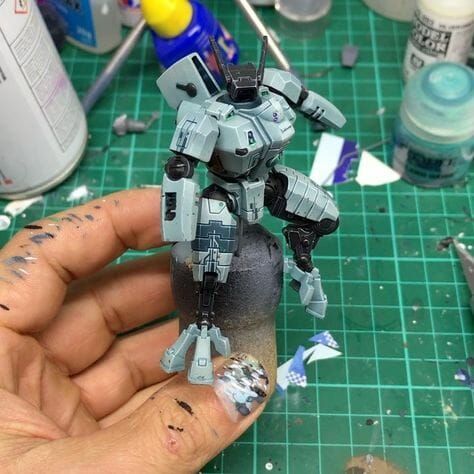 Tau sept color schemes, caste color schemes for Tau, T'au paint color scheme ideas – Grimdark Tau style, Blachitsu Tau painting, how to paint Tau miniatures, Games Workshop Tau paint schemes – How to paint grimdark Tau – painting Blanchitsu Tau - tinted white