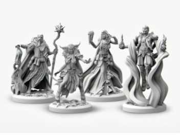 Is 3D printing miniatures and models worth it? Are subscriptions to 3D printing services or 3D model marketplaces good or worthwhile - 3D printing miniatures and models overview - why 3D printing is changing the tabletop miniature gaming industry -  3d printing renders examples for RPG