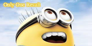 Only One Result