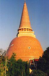 Phra_Pathom_Chedi le plus haut monument