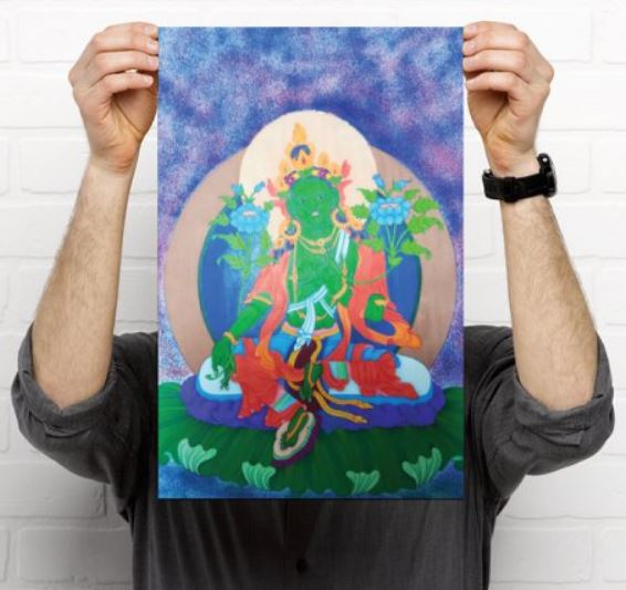 Tara verte poster