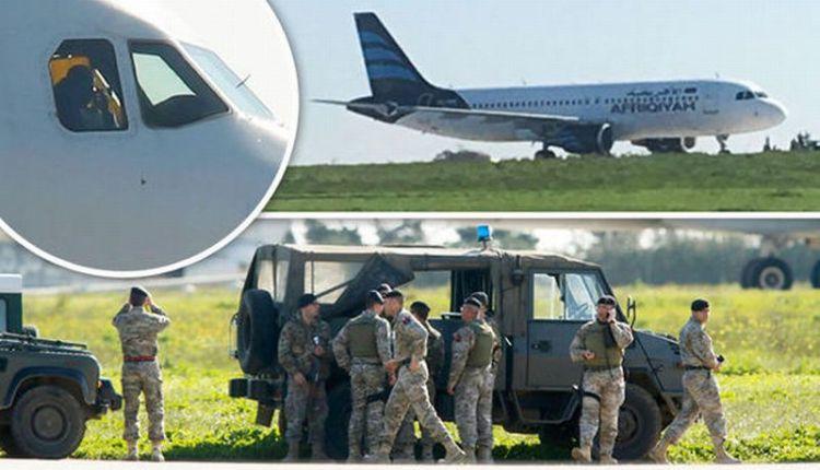 Pembajak Pesawat Libya Bebaskan Perempuan dan Anak-Anak
