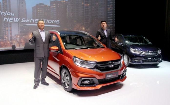 New Honda Mobilio Dongkrak Penjualan Honda naik 21 % Di Awal Tahun