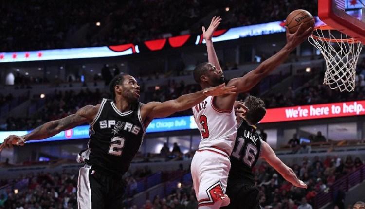 Spurs Telan Kekalahan Pertama musim ini di Laga Tandang melawan Bulls.