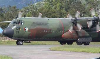 Pesawat Hercules TNI Hilang di Wamena Papua