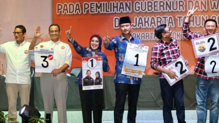KPU DKI diminta untuk Batalkan Pasangan Nomor Urut Satu Karena Lakukan Pelanggaran Berat…!!