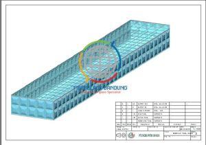 tangki panel fiberglass reservoir