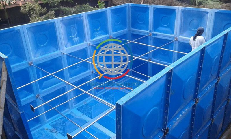 tangki panel murah fiberglass