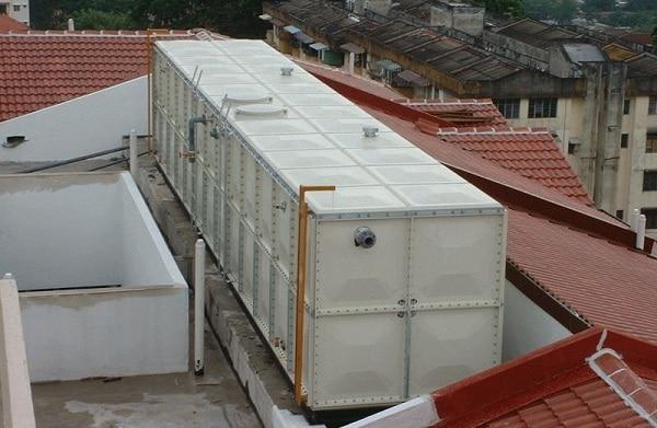 SPAM (Sistem Penyediaan Air Minum) Menggunakan Tangki Fiberglass