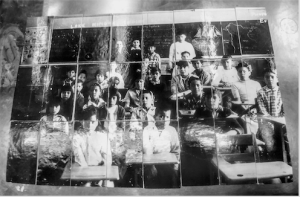 A photograph of Michel Dumont's piece: Indian Day School