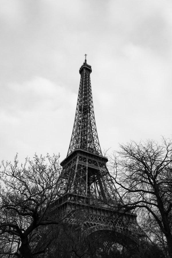 Paris In Black & White Tangledinmaps