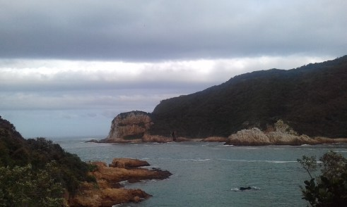 An oovercastday at The Heads in Knysna