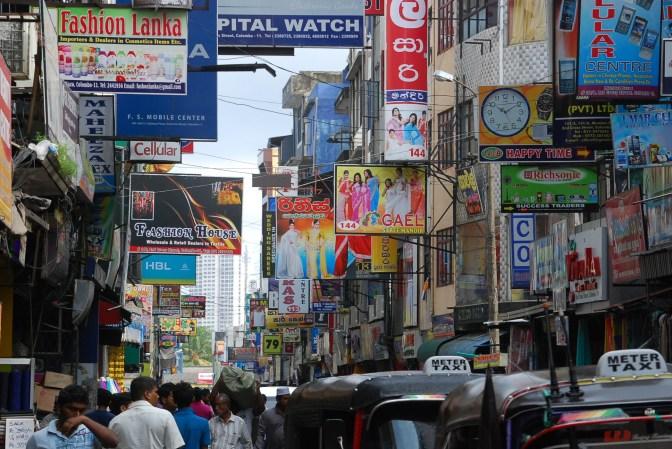 Street Shopping Scene