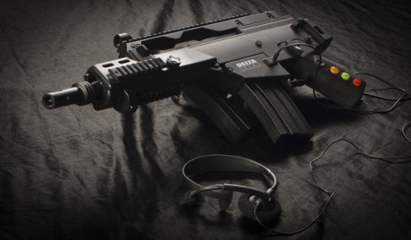 delta six lifelike gun controller vitual reality technology