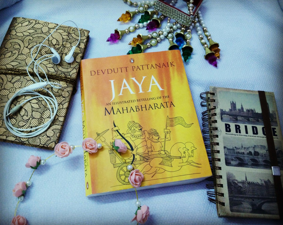 Book Review: Jaya, An illustrated retelling of the Mahabharata.