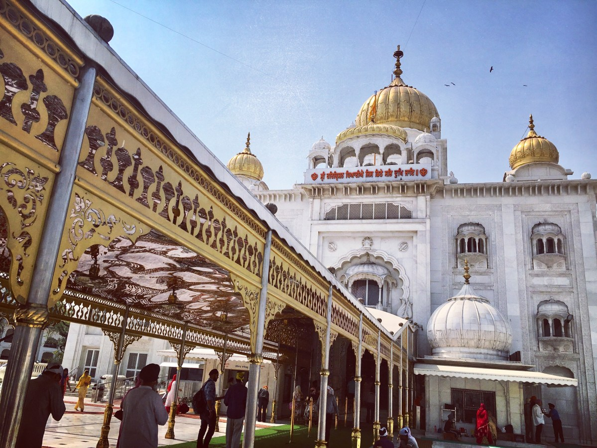 Bangla Sahib Gurudwara: Connaught Place