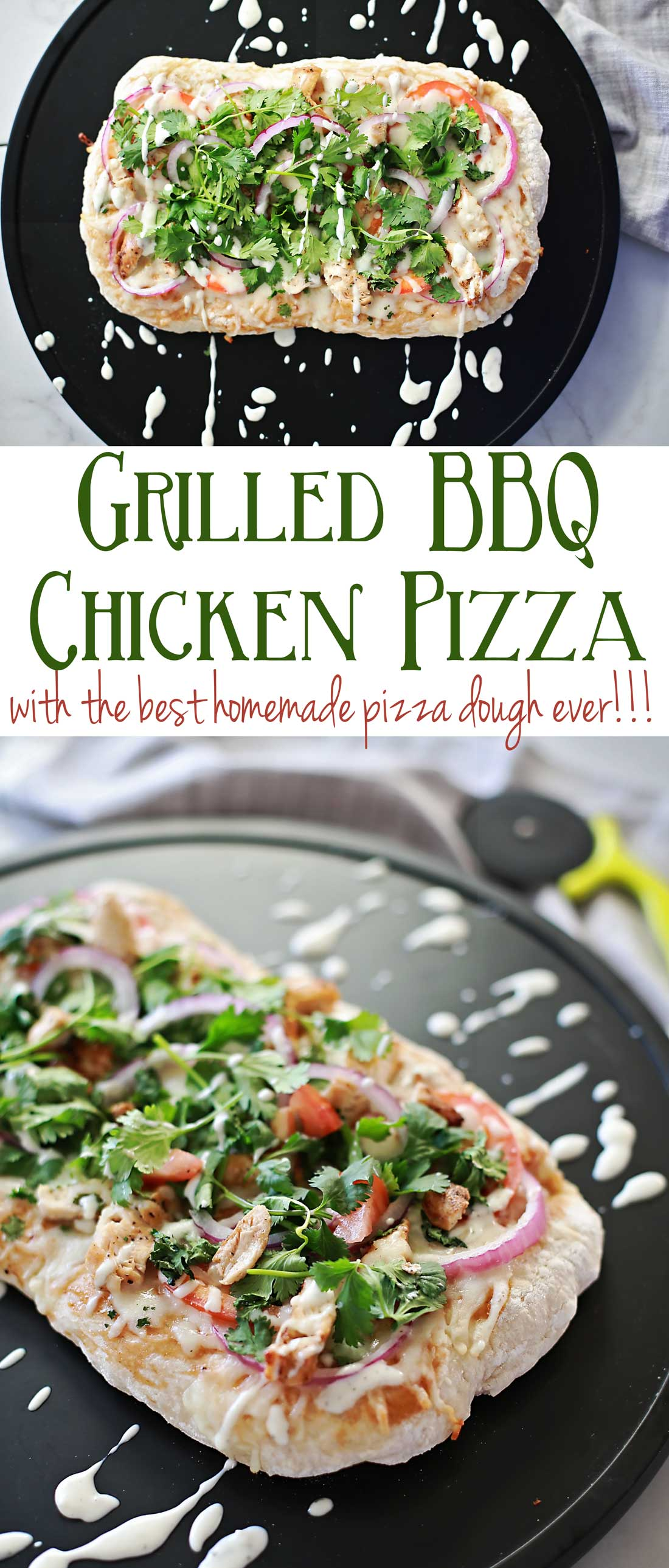 AMAZING BBQ Chicken Pizza!