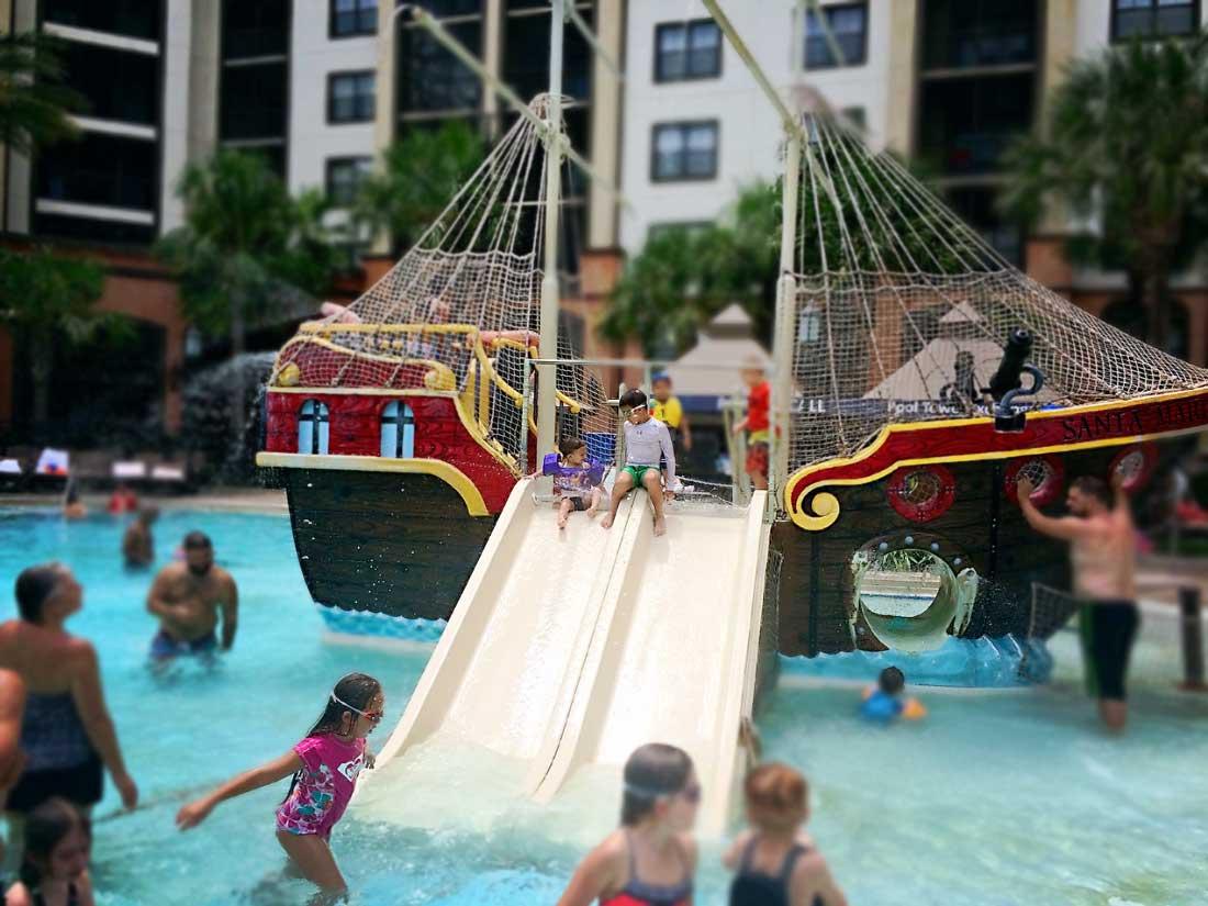Pool at the Sheraton Vistana Villages in Orlando Florida