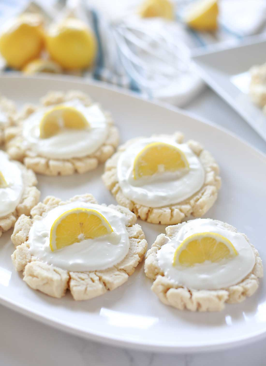 Sour Cream Lemon Sugar Cookies