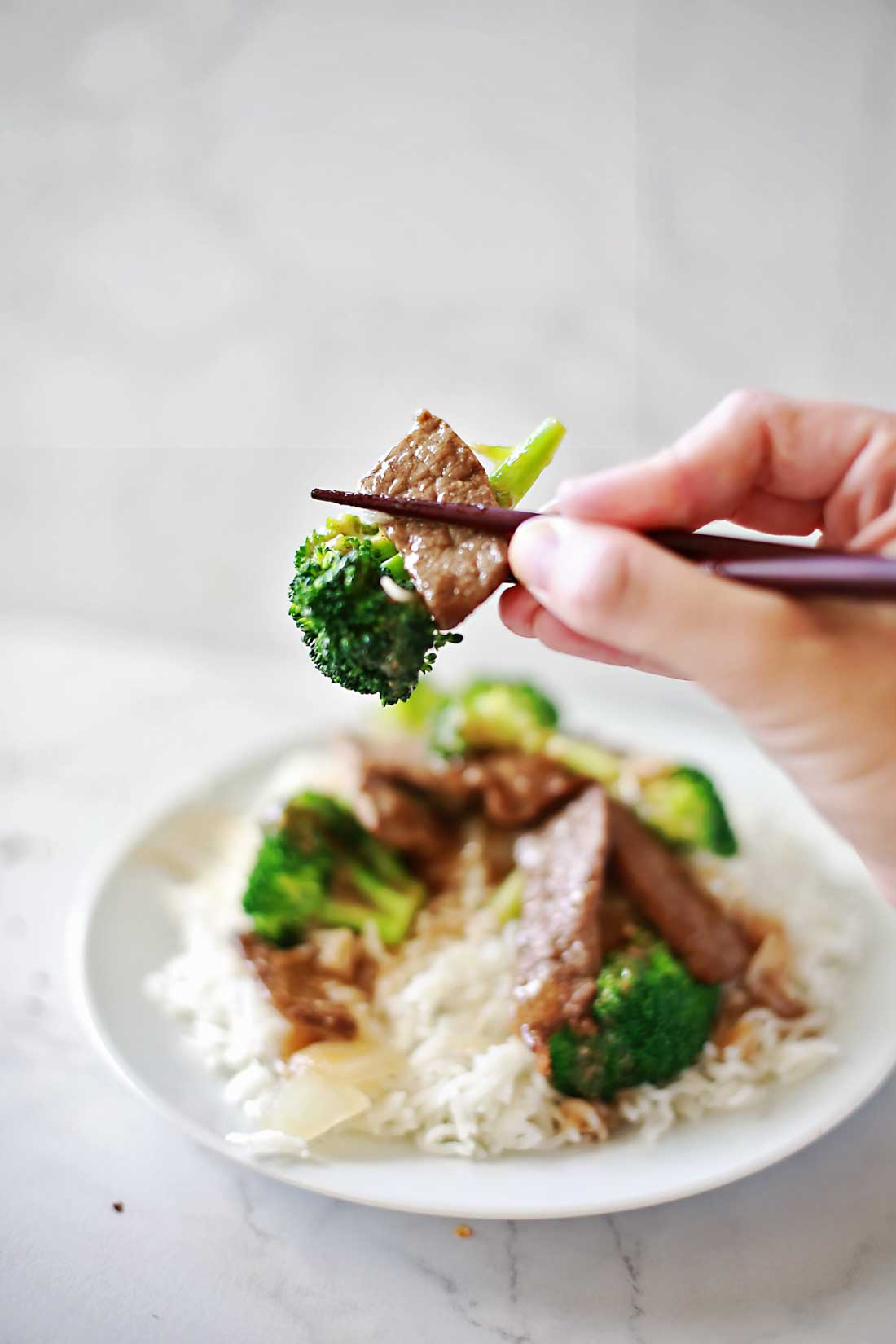 AMAZING Beef and Broccoli Recipe by Flirting with Flavor