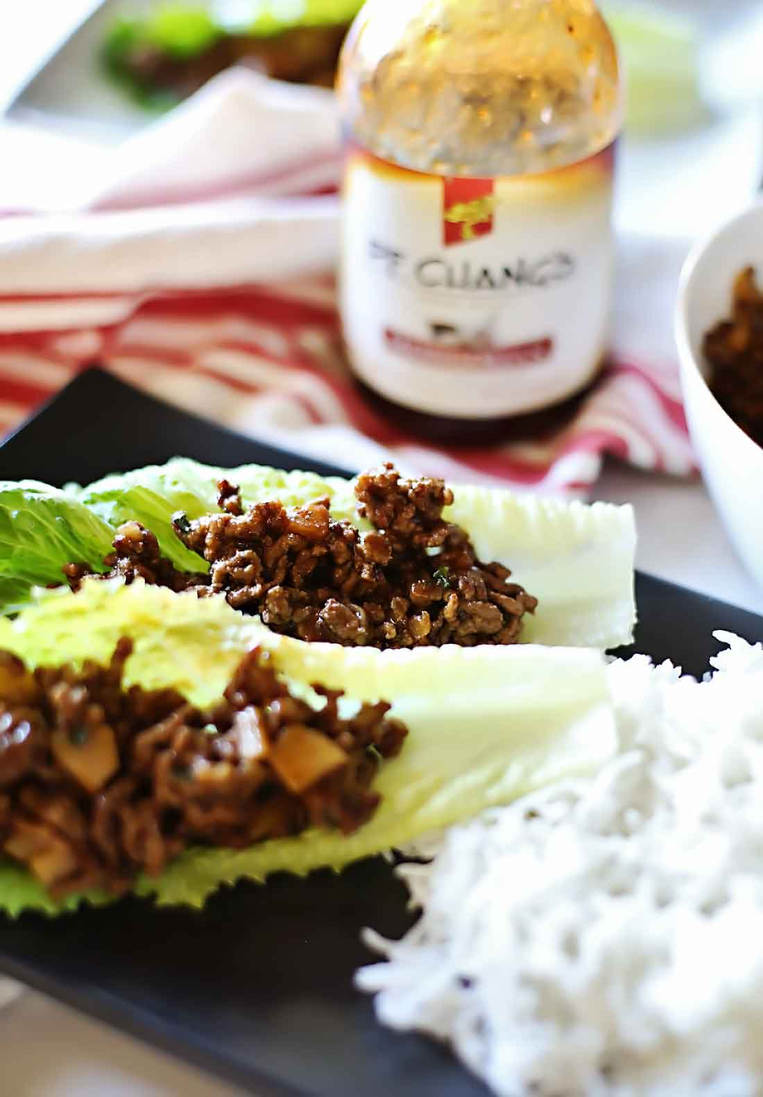 Mongolian beef lettuce Wraps that will rock your world!