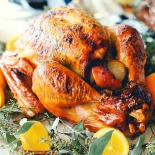 Easy recipe for perfect orange spiced turkey!