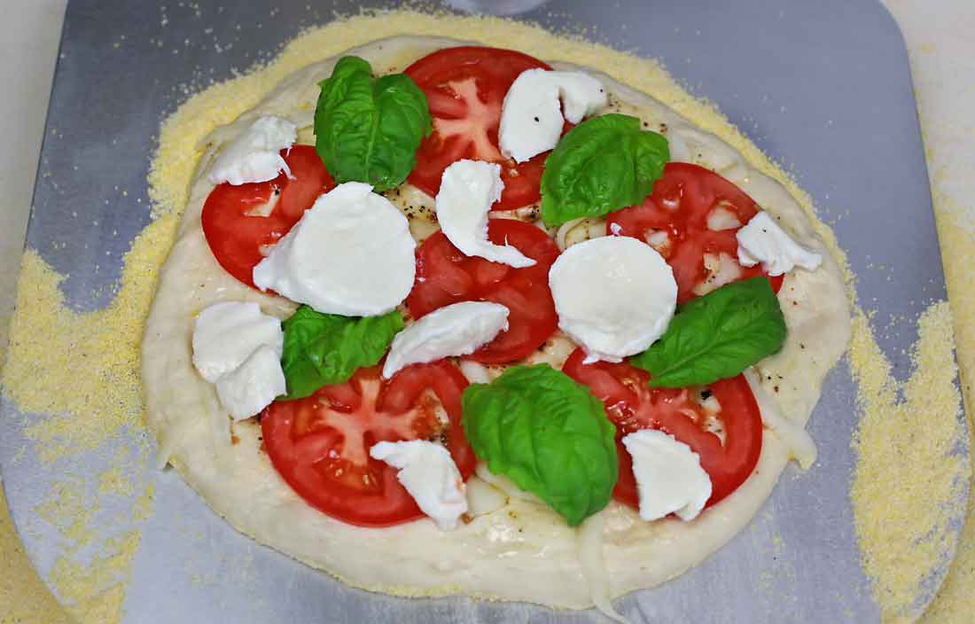 Delicious Pizza from the Pizzeria Pronto Outdoor Pizza Oven!