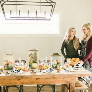 The ultimate Thanksgiving Tablscape made easy
