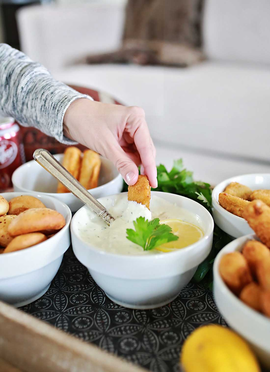 mozzarella sticks and buttermilk ranch make the world a better place!