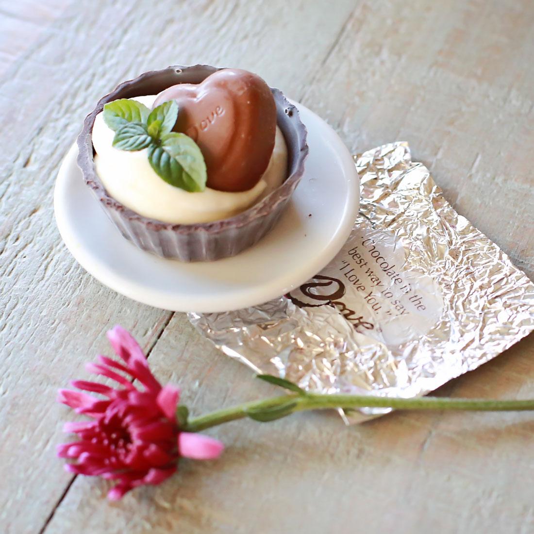 Miniature Chocolate Cheesecakes recipe