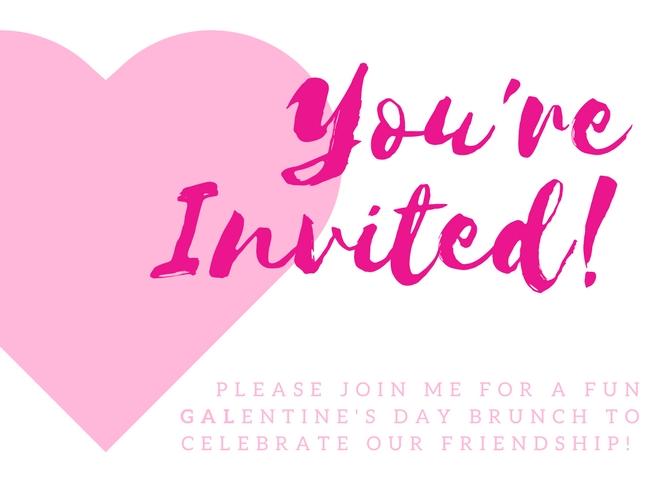 Ladies Brunch Printable Invite
