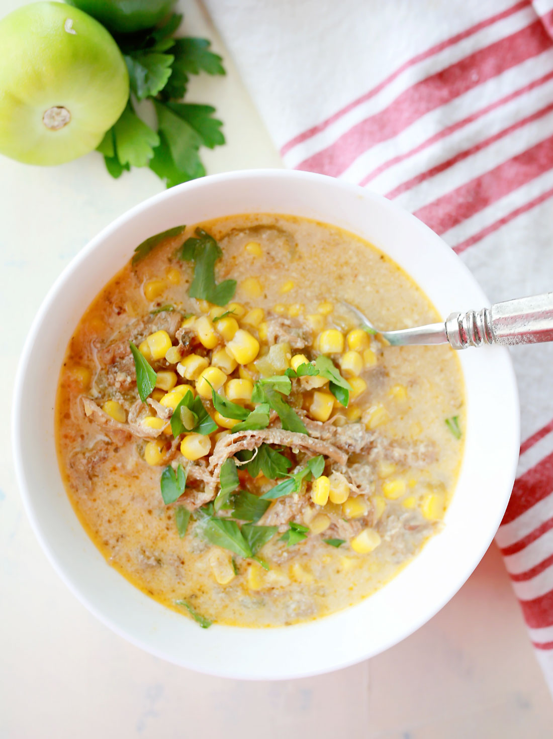 Corn chowder that will rock your world!