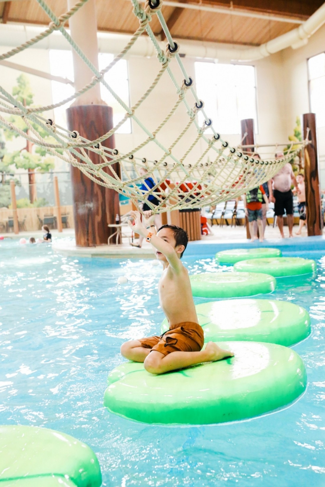 Review of the Great Wolf Lodge!