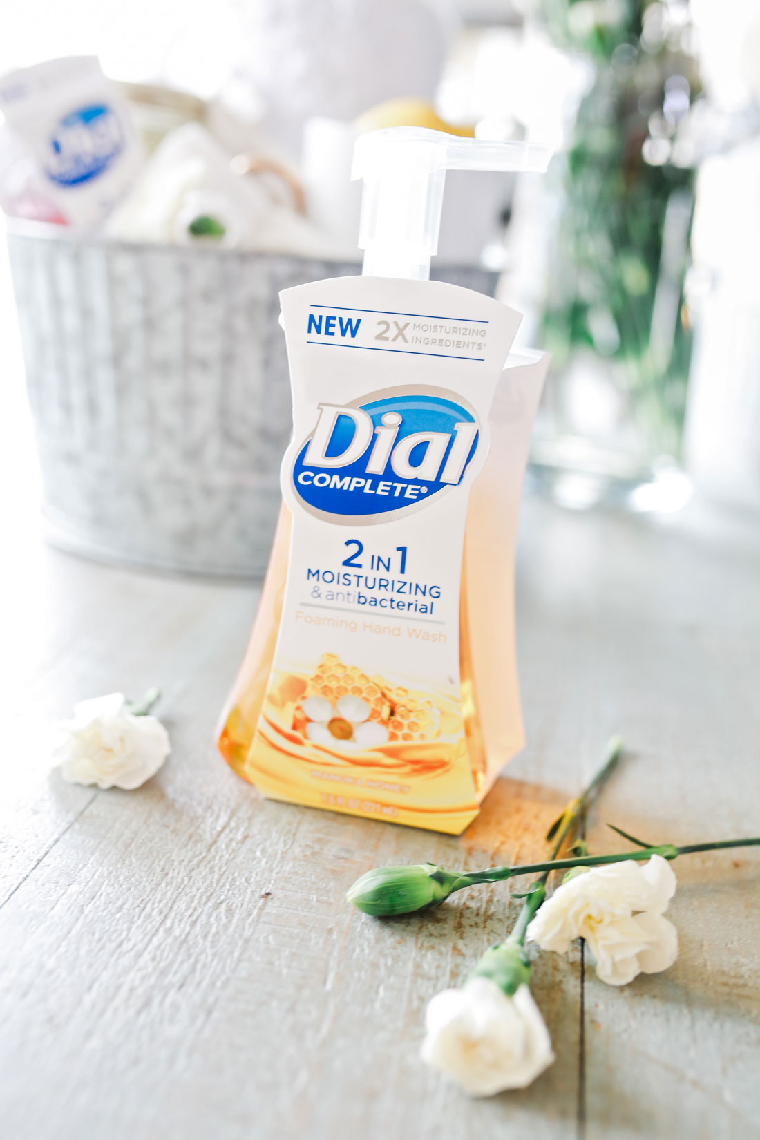 One of the biggest complaints about hand soaps is that they dry out skin. This unique formula from Dial® ensures that your hands stay clean and moisturized after each wash.