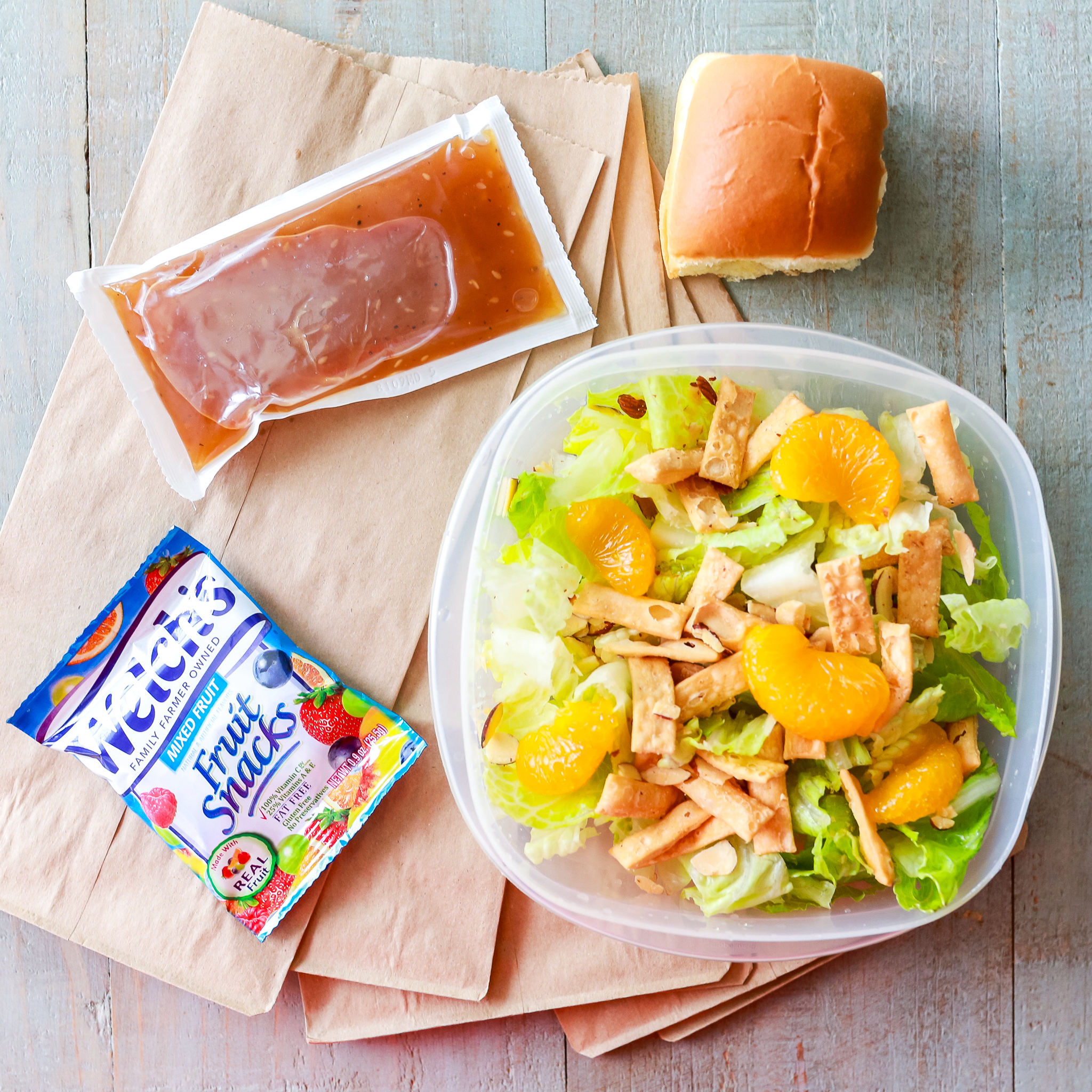 Back to School Lunch Ideas beside a sandwich