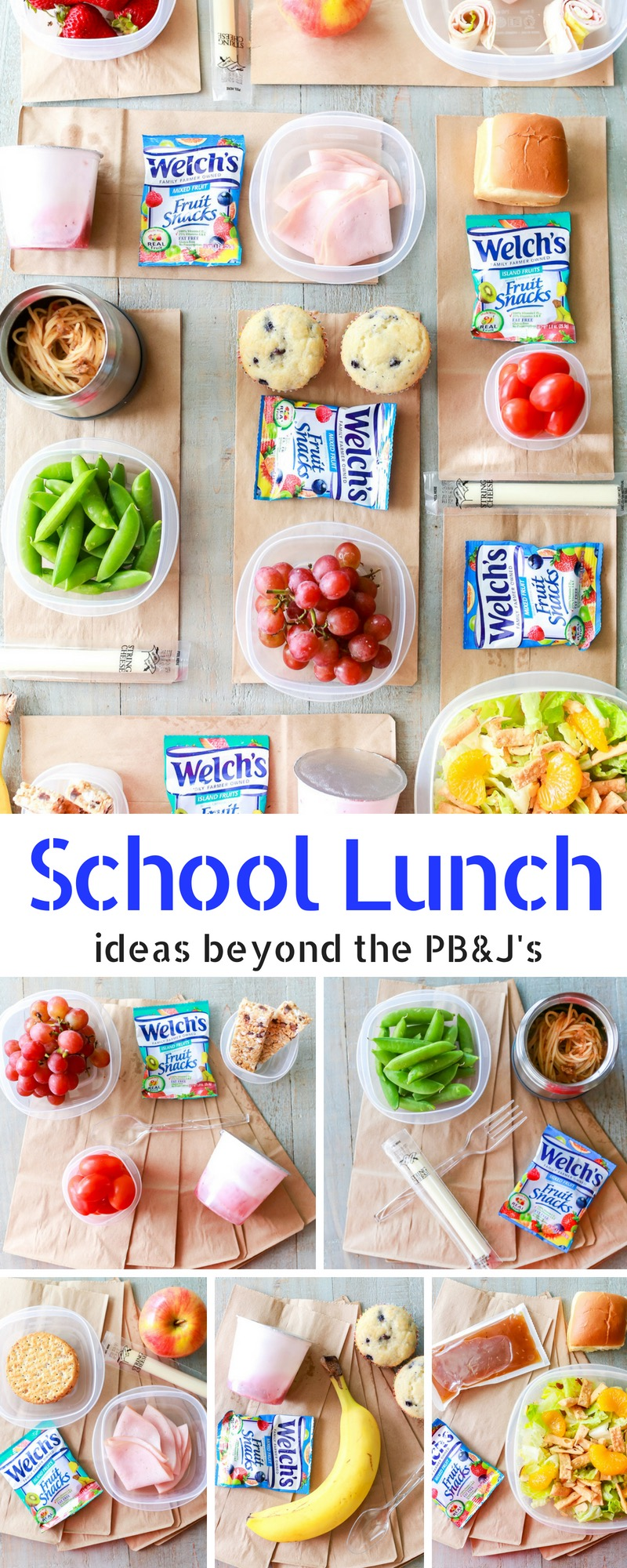 Easy and fast back to school lunch ideas besides a sandwich!