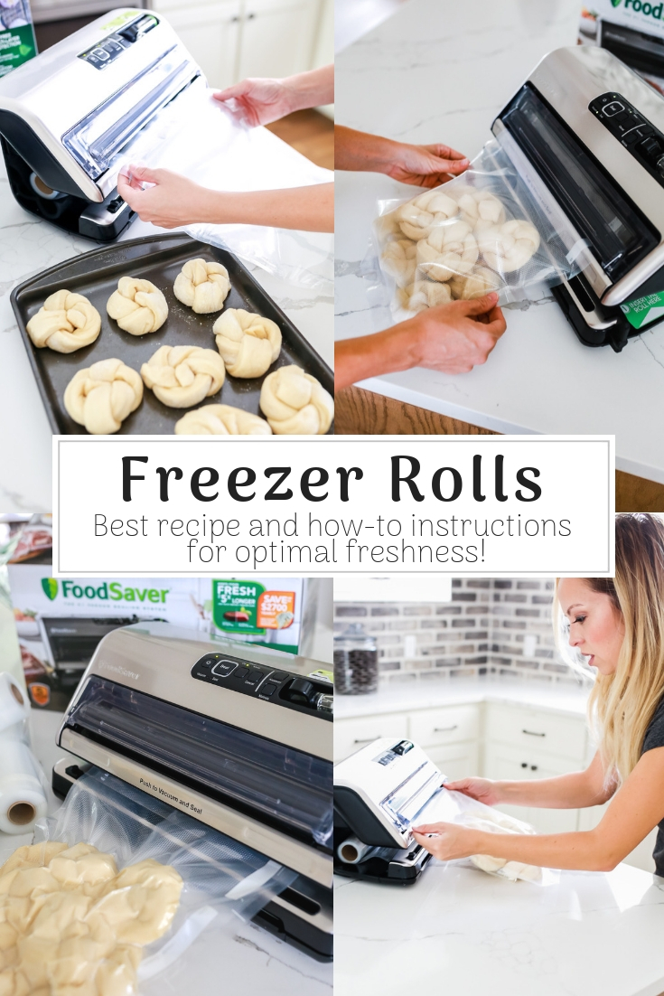 Light and fluffy freezer rolls