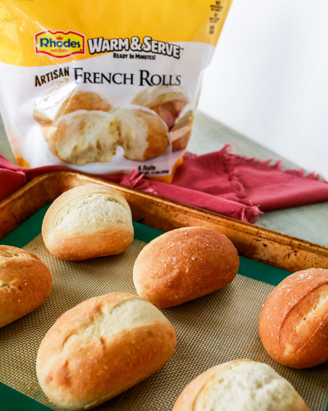 The perfect bread to Artisan rolls for French Dip Sliders