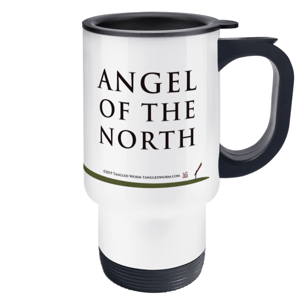 Angel of the North Travel Mug