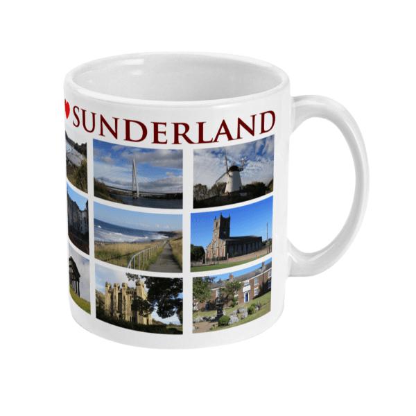 Sunderland Mug Right side