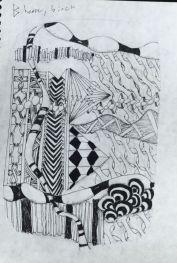 Tangle Saxon Runes: Beorc
