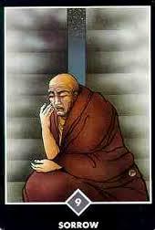 osho zen sorrow card