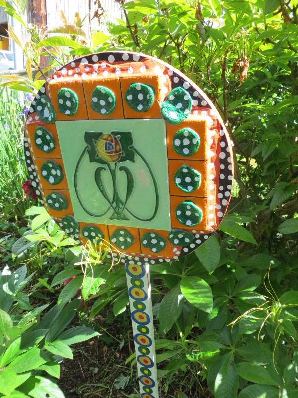 Mosaic Garden Art Tangly Cottage Gardening Journal